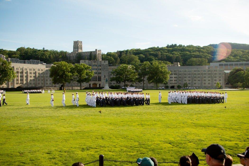 Grantly - Štipendija in študij na ameriški vojaški akademiji West Point